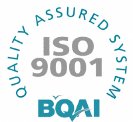 Galway tool and moulds ISO9001 quality assurance badge