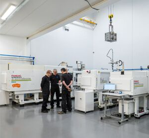 Moulding Machinery and team members from GTM